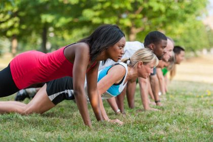Outdoor Fitness Kurs